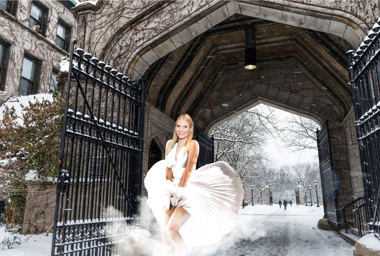 Gwyneth over steam